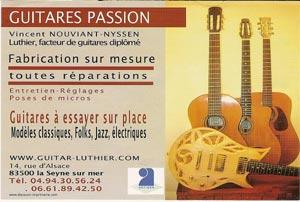 Guitares Passion